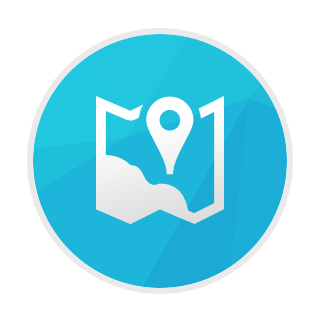 Native maps ANE icon